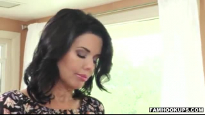 Veronica Avluv is getting her pussy filled up with a rock hard dick as deep as it could go