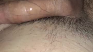 Sexy babe gets lubed up to suck cock and swallows